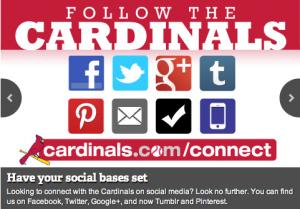 Cardinals Social Media