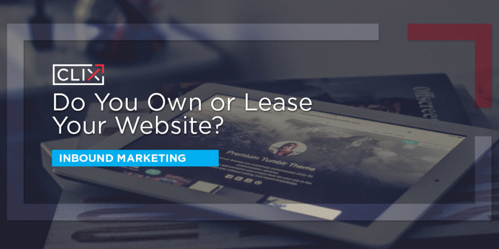 own or lease website