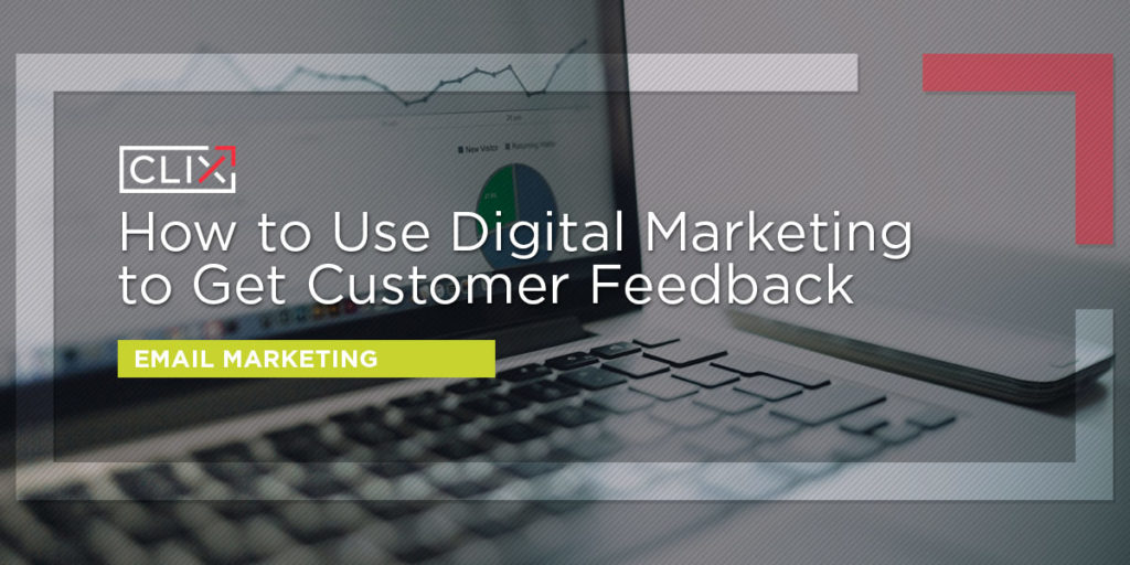 digital marketing customer feedback