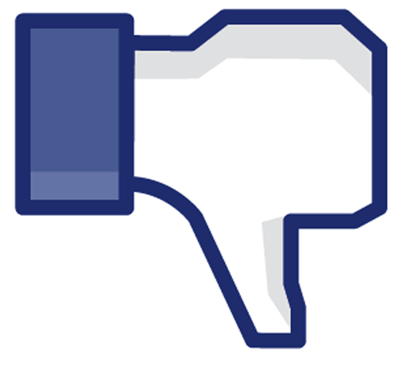 Facebook negative feedback